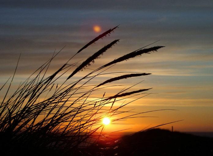 dune tramonto sole