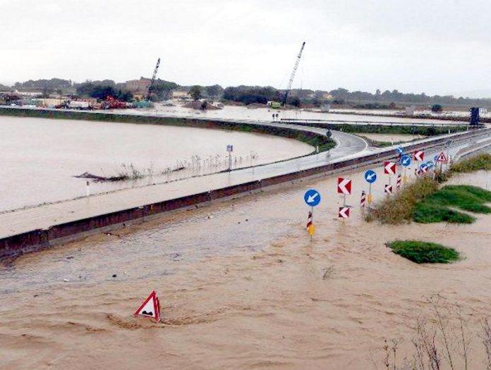 fiora esondazione alluvione