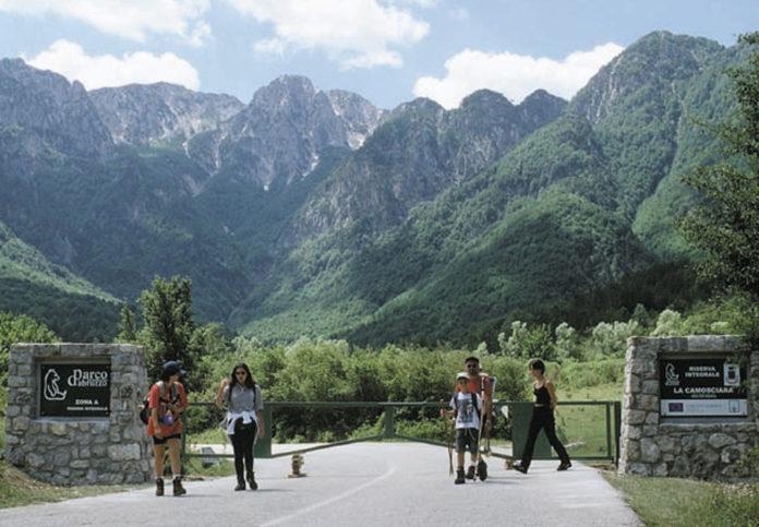 parco Abruzzo ingresso