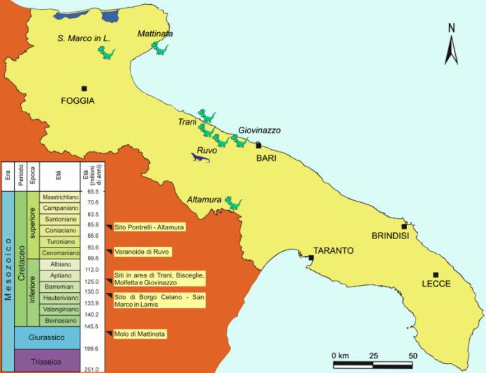 mappa di Oronzo Simone