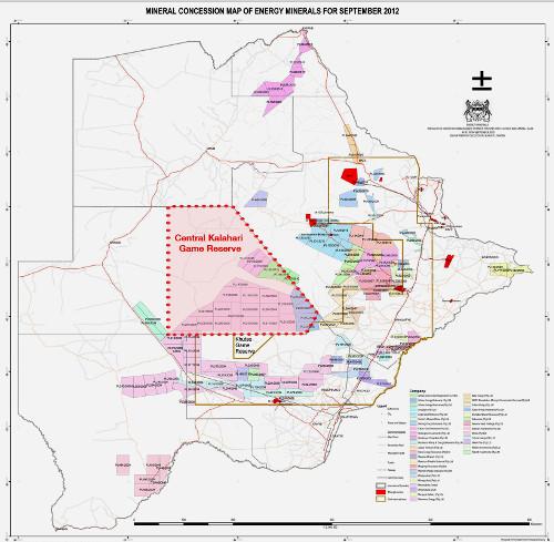 Botswana-concessioni