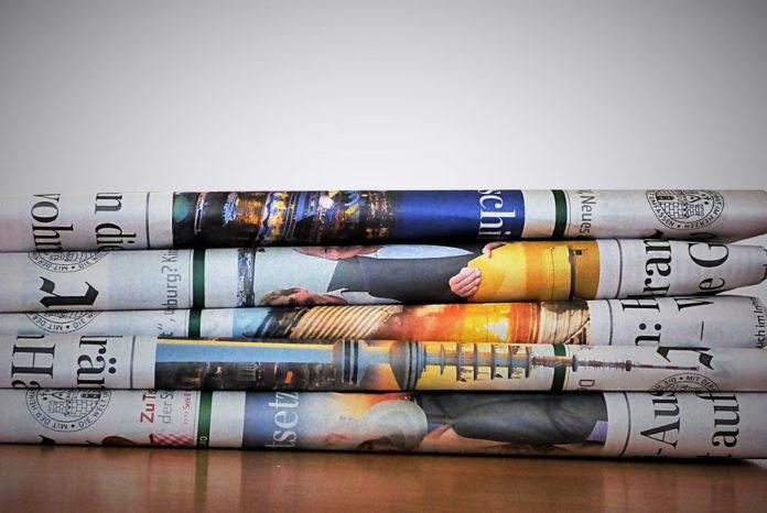 giornali stampa quotidiani