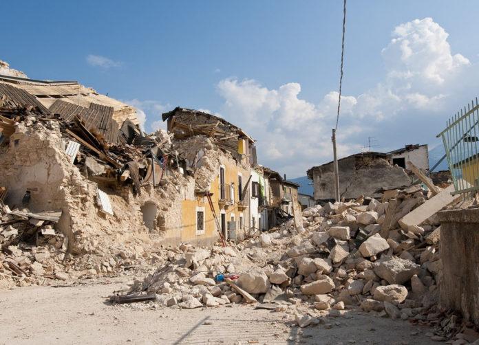 sisma terremoto territorio
