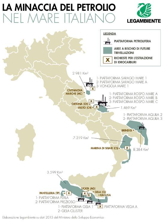 mappa petrolio 2016