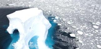 clima artico caldo ghiacciaio