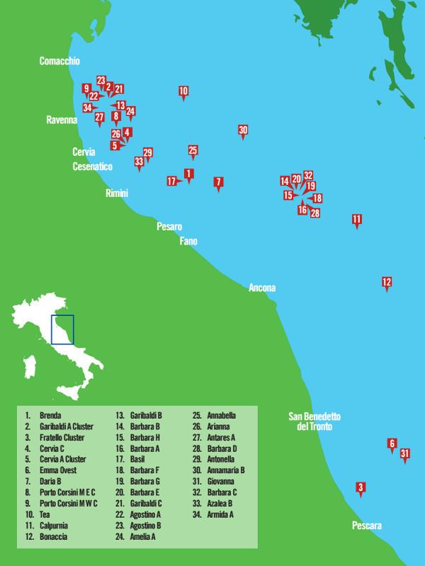 Mappa piattaforme