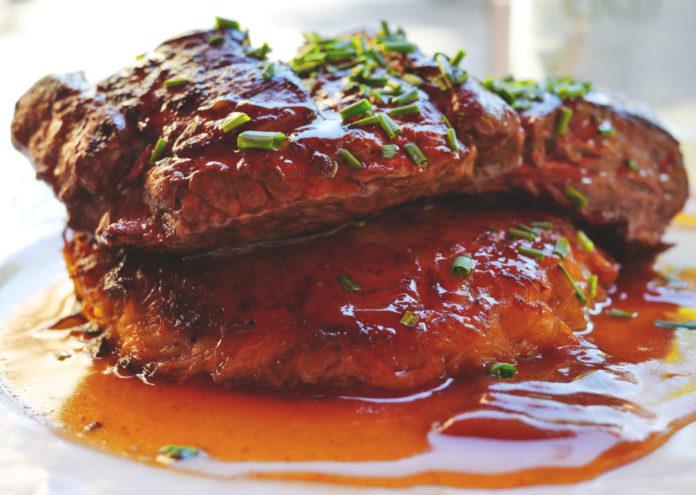 carne bistecca cibo