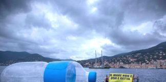 Camogli plastica mare greenpeace