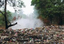 rifiuti discarica bosco