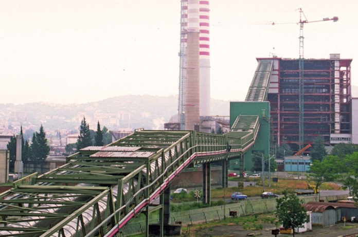 Enel La Spezia centrale carbone