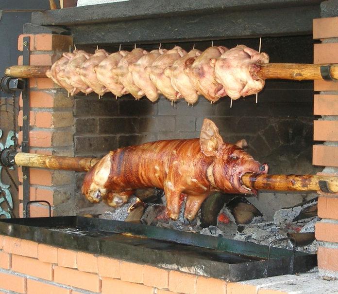 carne girarrosto brace 83
