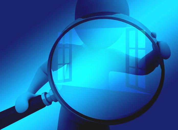 indagine ingrandimento lente ricerca
