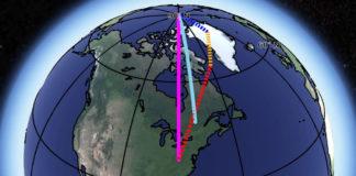 spostamento asse terrestre nasa