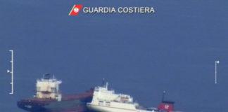 Collisione navi Santuario Cetacei