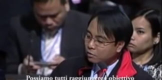 disastro filippine presidente