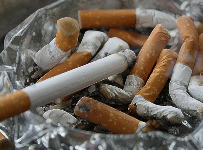 sigarette cicche tabacco inquinamento