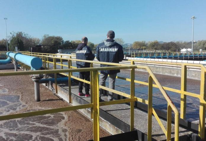 carabinieri depurazione plastica mare
