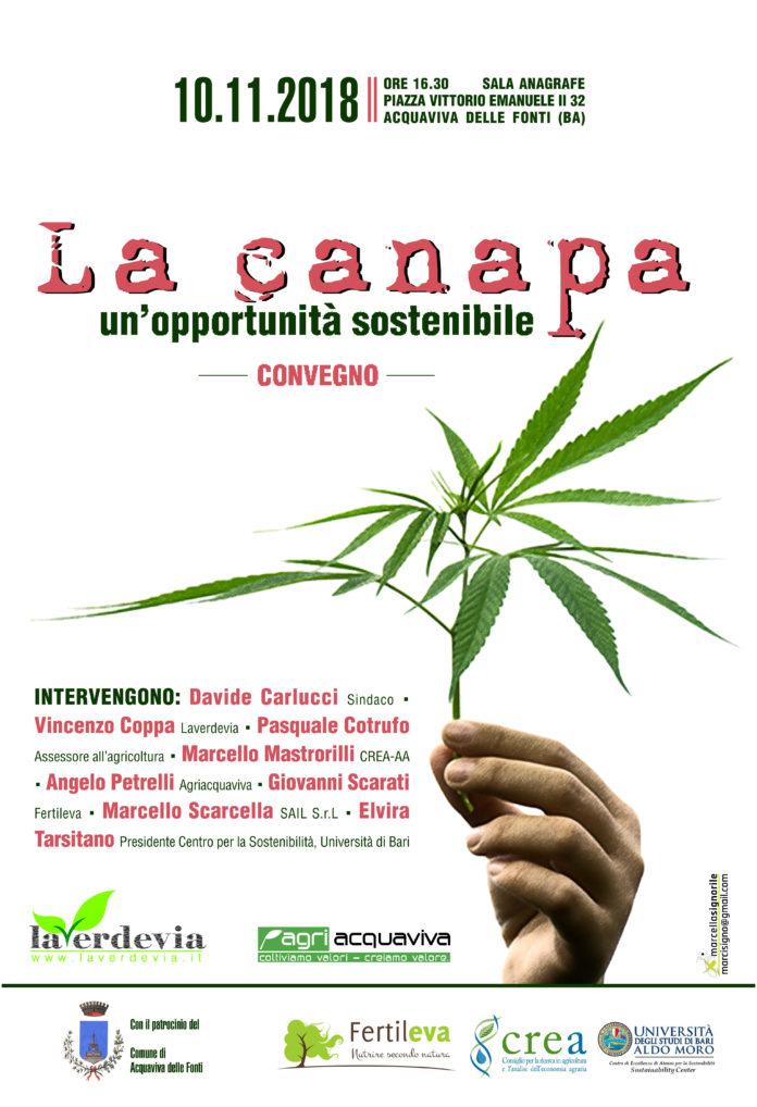 locandina canapa Acquaviva10nov2018