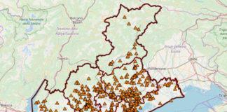 Siti inquinati del Veneto Fonte Arpav
