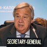 segretario generale Onu Antonio Guterres