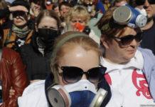 rifiuti proteste russia