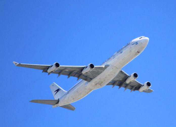 aereo inquinamento