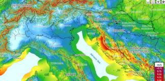 mappa del vento