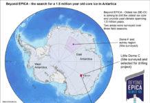 Mappa Antartide