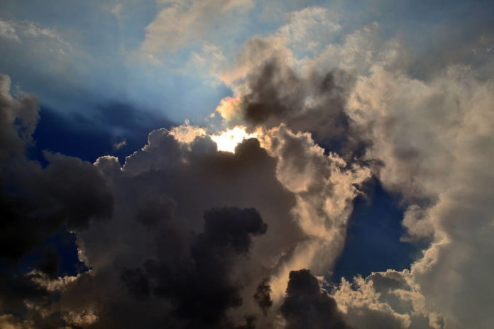 cielo clima nuvole 86