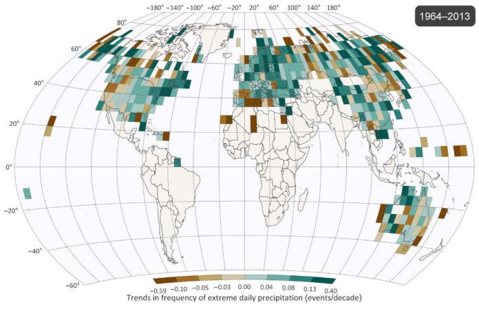 Mappa mondiale precipitazioni