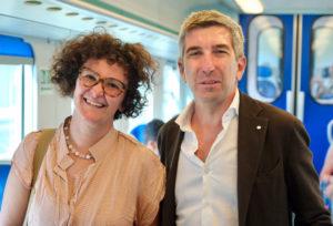 Elsa Sciancalepore con Vincenzo Coppa