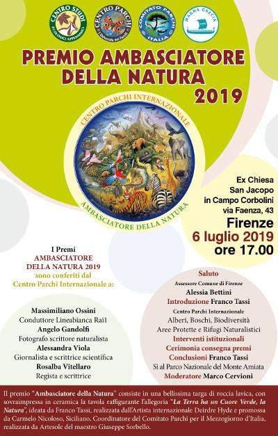 LOCANDINA PremiNatura Firenze 2019