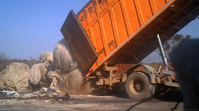 Sversamento illegale rifiuti bari