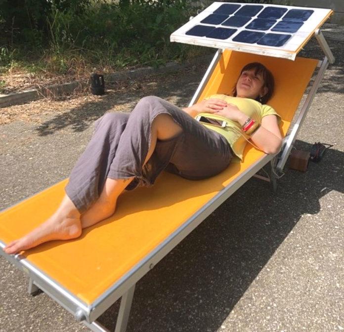 celle solari e lettino spiaggia