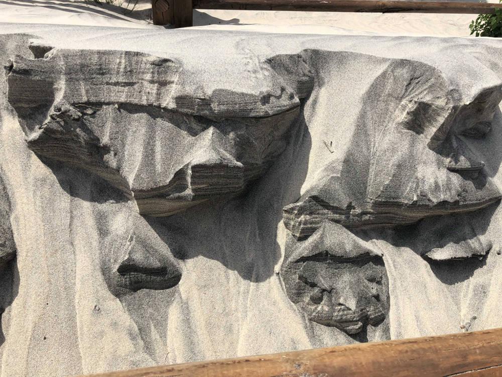 Elia Alberto - Facce di sabbia, Casalabate - Marina di Trepuzzi (LE)