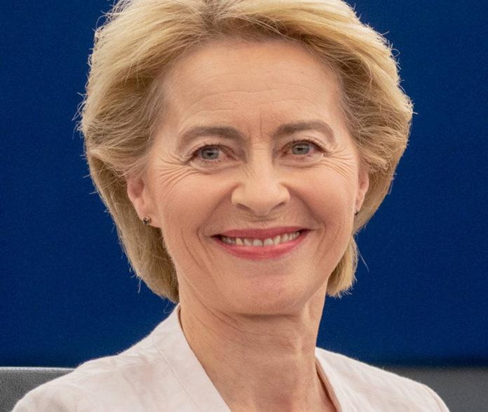 Presidente della Commissione europea Ursula von der Leyen