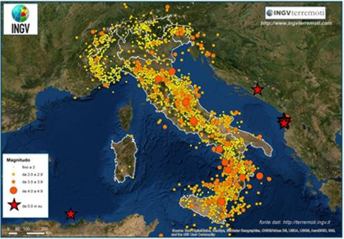 ingv terremoti 2019
