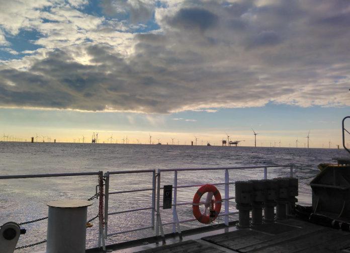 fattoria eolica nel mar del Nord