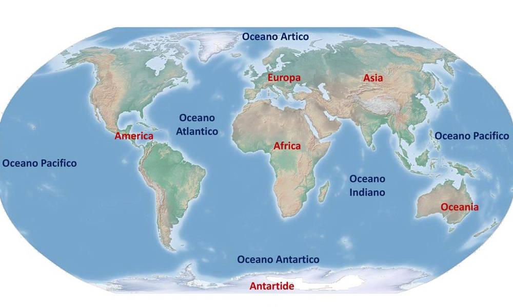 Cartina Europa E Medio Oriente.Clima Ecco Come L Atlantico Influisce Sul Medio Oriente Villaggio Globale