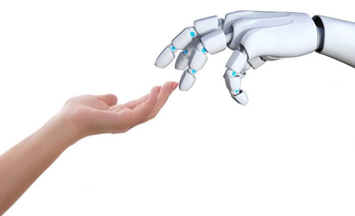 robot scuola uomo