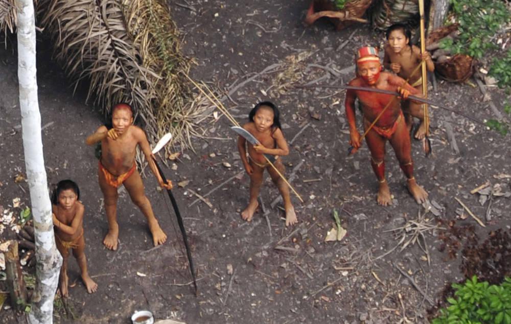 una tribu incontattata