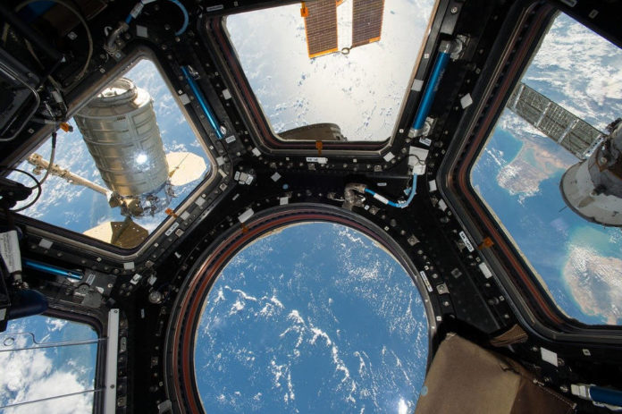 spazio iss cupola