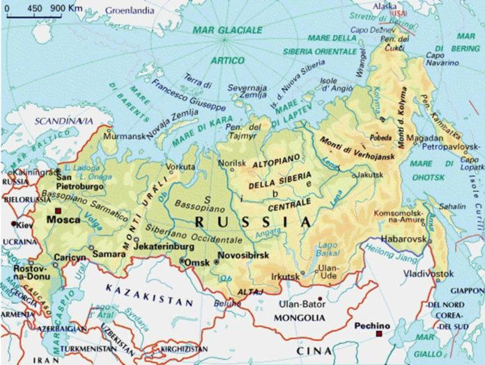 Alena cartina russia