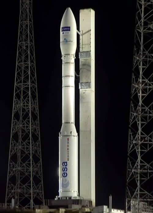 il razzo italiano Vega