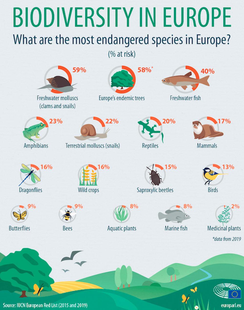 biodiversita europa