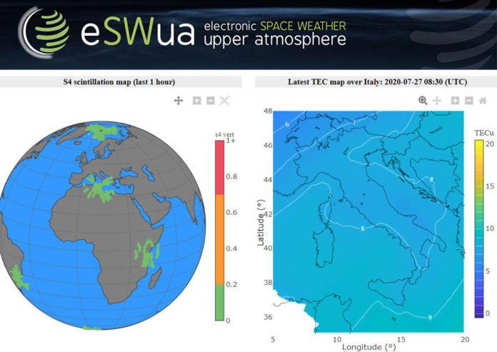 eSWua ionosfera ingv