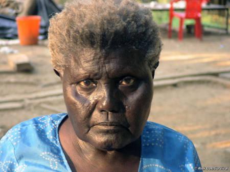 Boa Sr era l'ultima sopravvissuta dei Bo, una delle tribù di cui si componeva il popolo dei Grandi Andamanesi. È morta nel gennaio 2010. © Alok Das/Survival