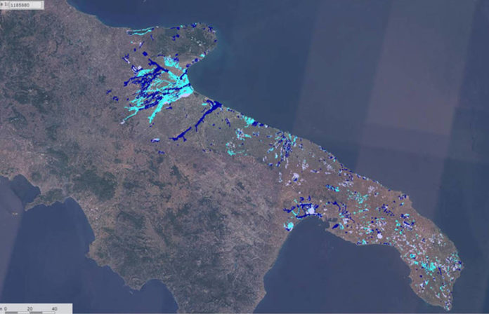 Puglia pericolosità idraulica regione Puglia