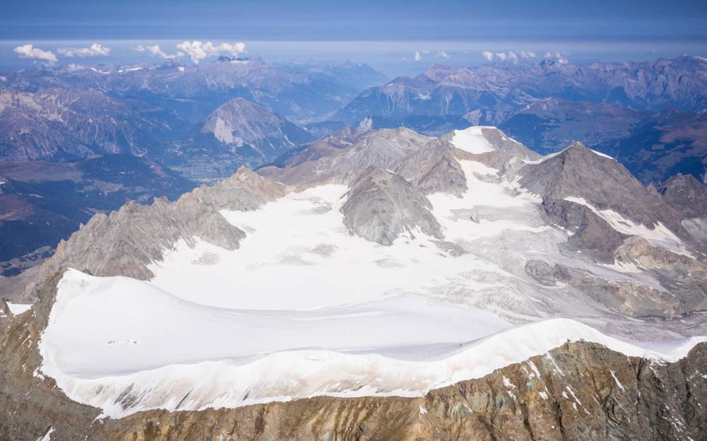 ghiacciaio Corbassiere