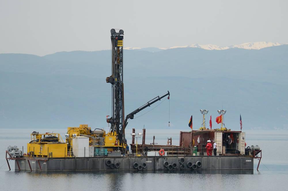 lago di Ocrida ricerche